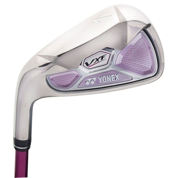 YONEX LEFT HANDED LADIES VXF IRONS, golf clubs irons