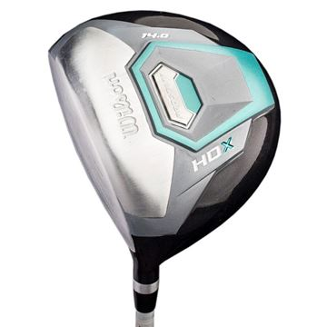 WILSON LEFT HANDED LADIES PROSTAFF HDX DRIVER, Golf Clubs Drivers