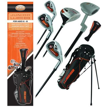 Go Web Junior Left Handed Golf Set 6-8 Years