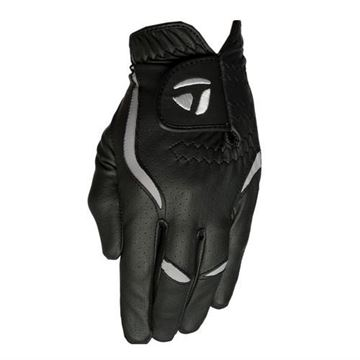 Taylormade Stratus All Weather Black Gloves (PACK OF 8) for the Left Handed Golfer