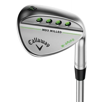 Callaway Left Handed Mack Daddy 3 Chrome Wedge, Golf Clubs Wedges