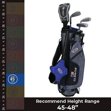 "US KIDS 45"" Ultralight - Package Set, junior golf clubs, package sets"