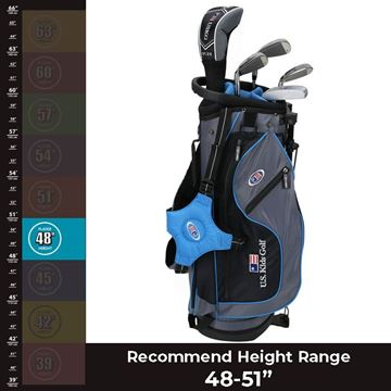 "US KIDS 48"" Ultralight - Package Set, junior package sets. junior golf clubs"