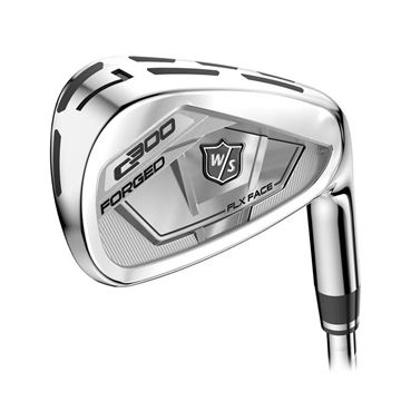 WILSON STAFF LEFT HANDED C300 IRONS, Golf Clubs Irons