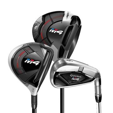 Taylormade Left Handed M4 Regular Flex Set
