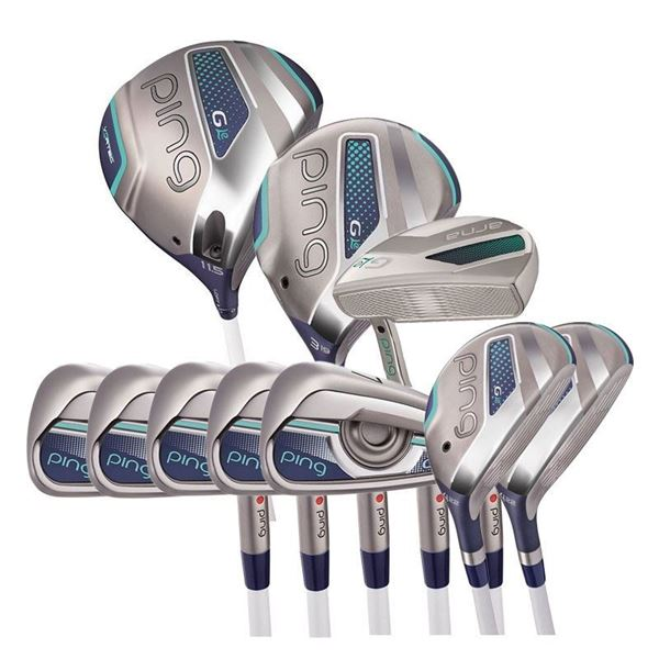 Ping Left Handed Ladies G Le Build Your Set, golf clubs set