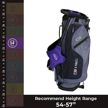 "US KIDS 54"" Ultralight - Carry Bag, Golf Bags Junior"