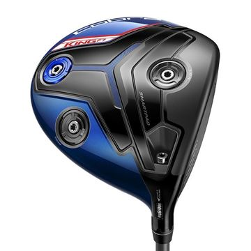 Cobra Left Handed F7 Driver - Blue, Golf Clubs Drivers