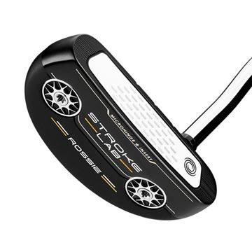 Odyssey Left Handed Stroke Lab Black Rossie Putter