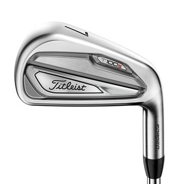 Titleist Left Handed T100s Steel Irons, Golf clubs Irons