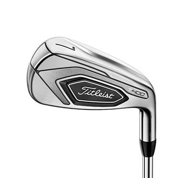 Titleist Left Handed T400 Steel Irons Golf Clubs mens