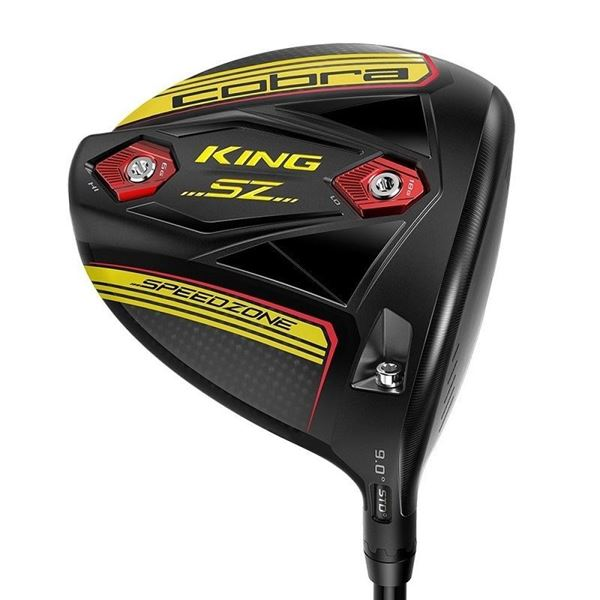 Cobra Left Handed King Speed Zone Tour Length Yellow Driver