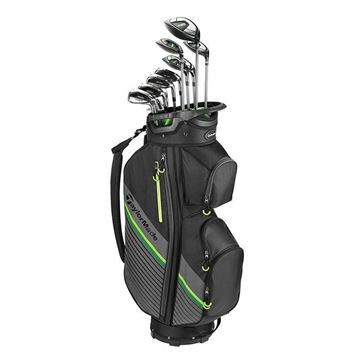 Taylormade Left Handed RBZ 11 Piece Package Set  - Steel Irons, Golf Clubs Package set